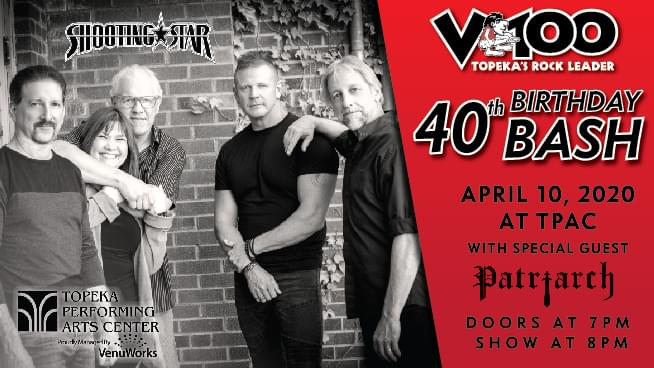 V100 Presents: Shooting Star at TPAC (NEW DATE)