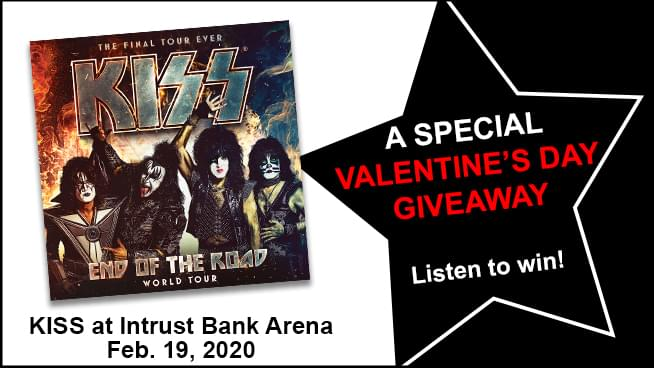 Win KISS tickets for Valentines Day!