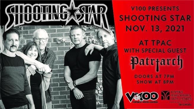 V100 Presents: Shooting Star at TPAC (New Date – November 13)