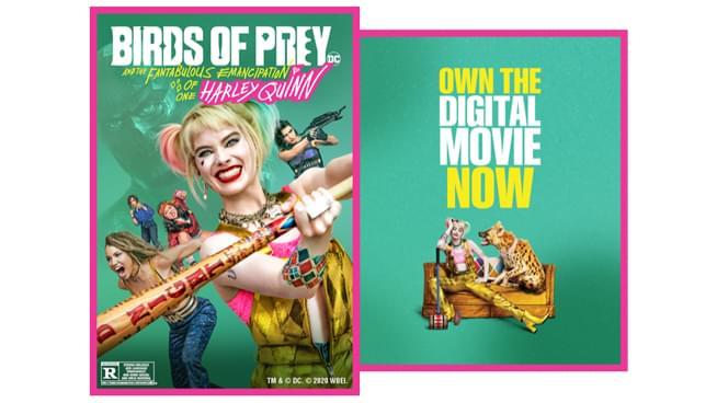 Win a Birds of Prey Digital Download!