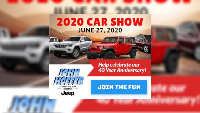 Celebrate 40 Years with John Hoffer!