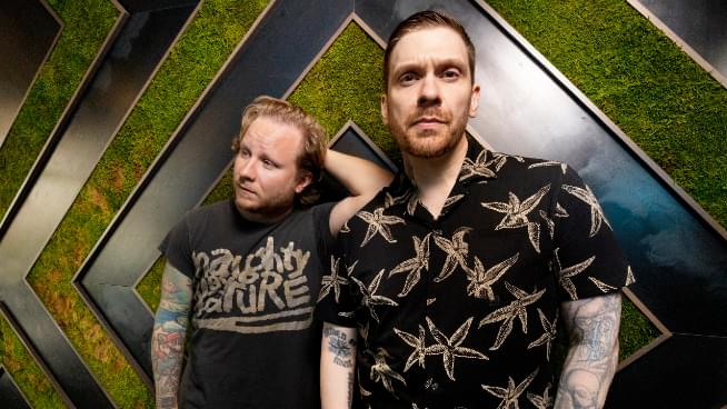 Members of Shinedown Form Duo, Announce Debut Album