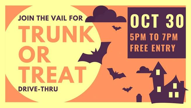 The Vail – Drive-Thru Trunk Or Treat