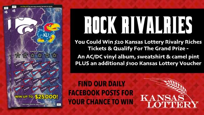 Get Your Kansas Lottery Rivalry Riches Tickets!