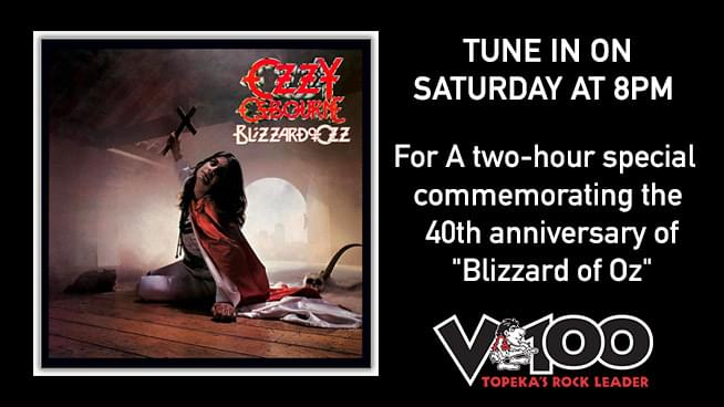 Ozzy – Blizzard of Ozz – Speciality Weekend and A Chance To Win