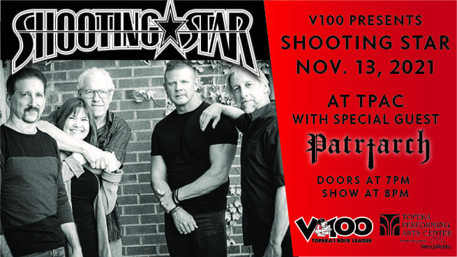 V100 Presents Shooting Star – NEW DATE