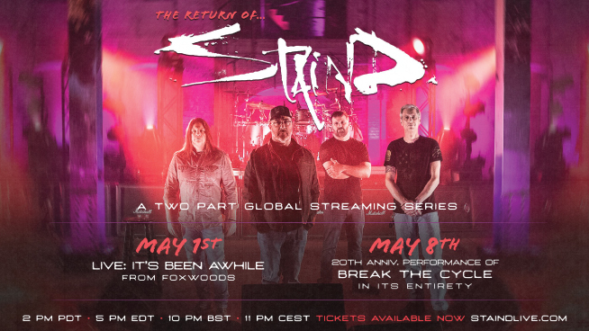 The Return of Staind: A Two-Part Global Streaming Series