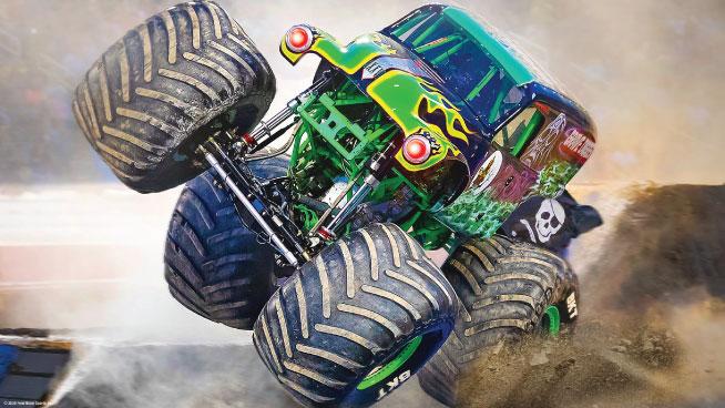 Monster Truck Monday!