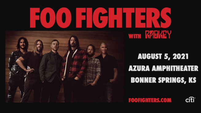 Rock with Foo Fighters This Summer!