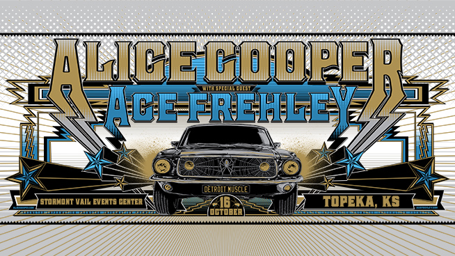 Alice Cooper Returns To Topeka In October!