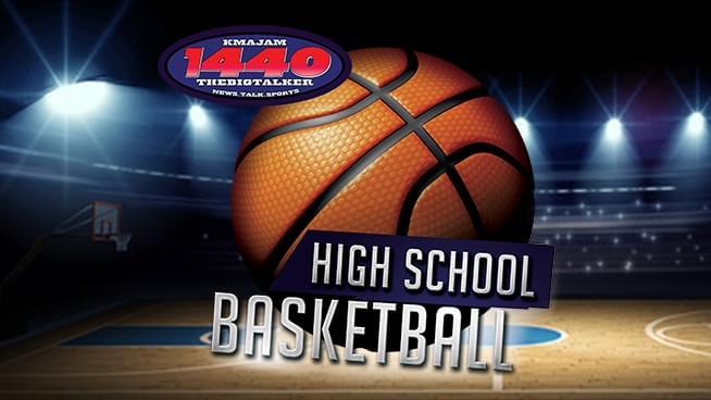 KMAJ Basketball Logo