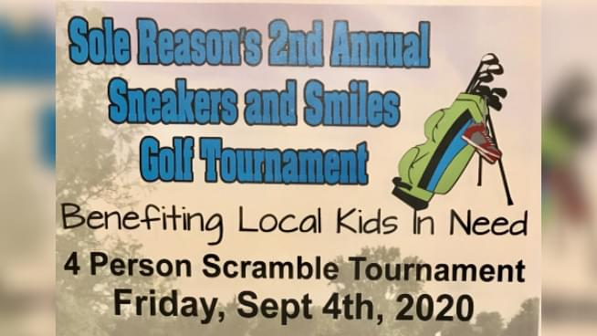 2nd Annual Sneakers and Smiles Golf Tournament