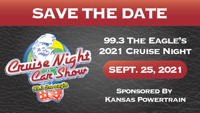 Cruise Night Car Show Set For September 25th!