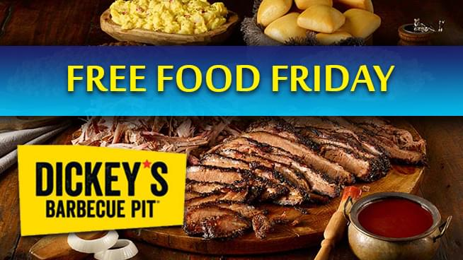 Win Free Food from Dickey's Barbecue Pit