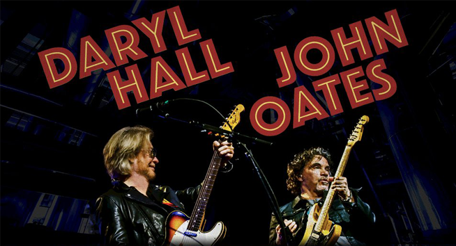 Daryl Hall, John Oates, AND Train?! Oh My!