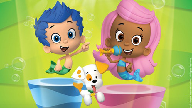 The Bubble Guppies are swimming into TPAC!