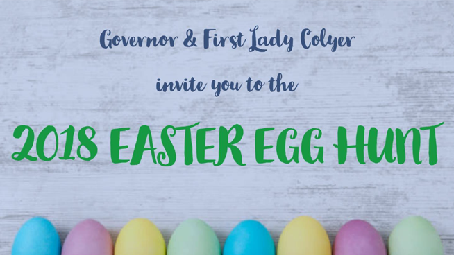 The Governor's Easter Egg Hunt is Here!