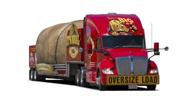 Big Idaho Potato Truck Will Be In Topeka!
