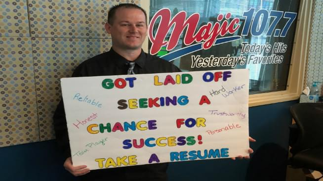A Topeka Man Takes His Resume To A New Extreme