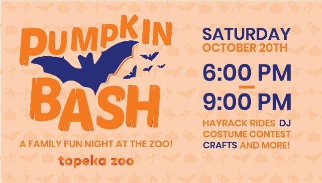 Topeka Zoo has new Halloween Event, Pumpkin Bash!