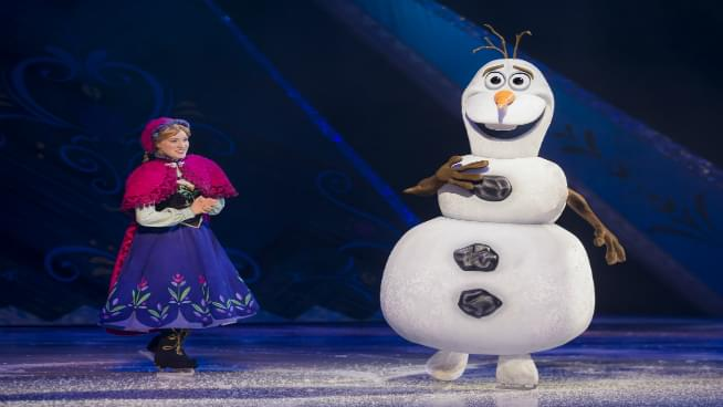 Disney On Ice Presents Frozen Comes To Topeka In April