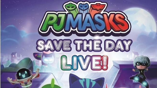 You Can Save The Day with PJ Masks Live!