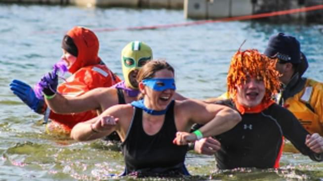 Freezin' For a Reason with the Topeka Polar Plunge