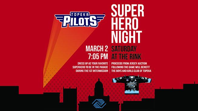 Superhero Night With The Pilots