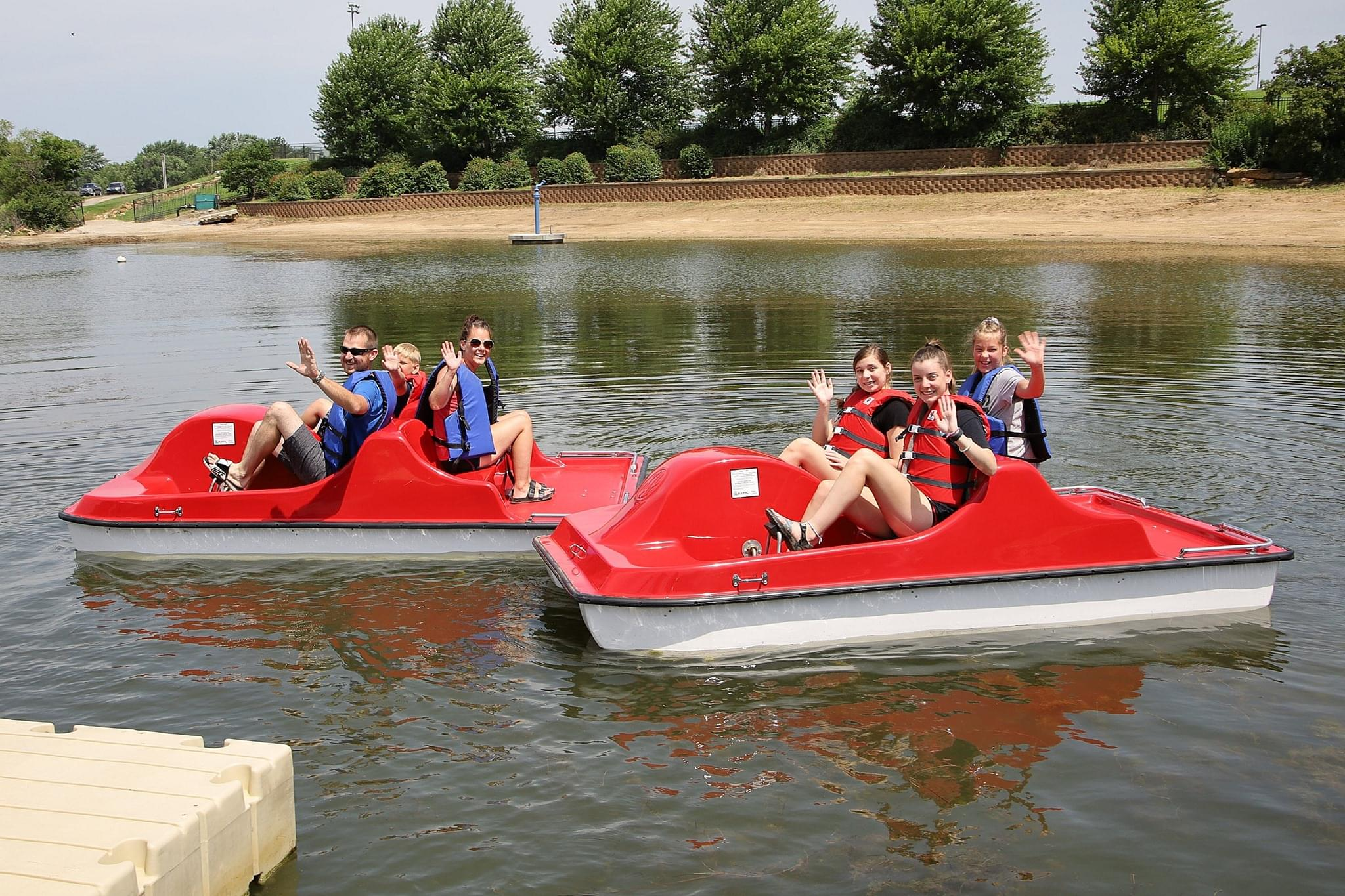 New Ada Accessible Kayak Launch At Lake Shawnee Kmaj Fm