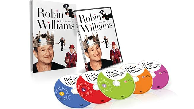 Robin Williams: Comic Genius, 5-disc DVD Set Could Be Yours!