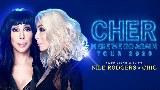 Cher: Here We Go Again Tour 2020  (New Date)