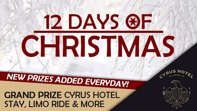 Twelve Days of Christmas Presented by Cyrus Hotel