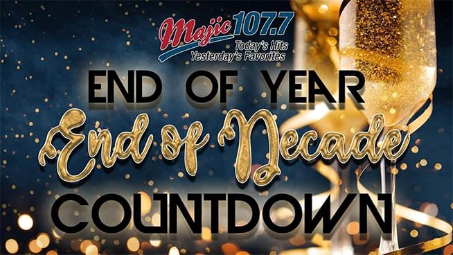 Majic is Counting Down the Top 50 Songs of the Decade