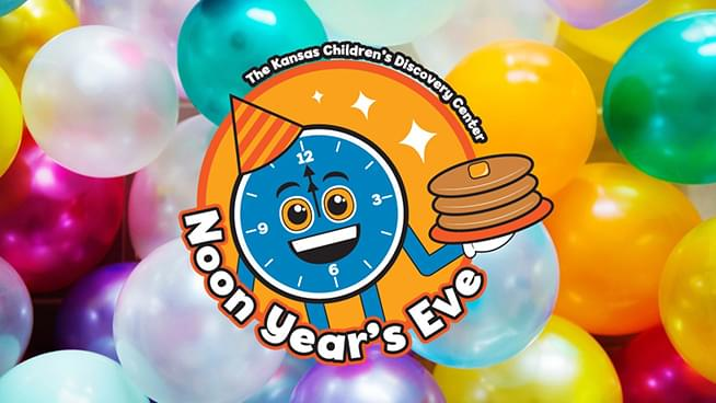 Win tickets to the Noon Year's Eve at The Kansas Children's Discovery Center!