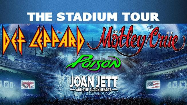 Def Leppard, Motley Crue, Poison & Joan Jett