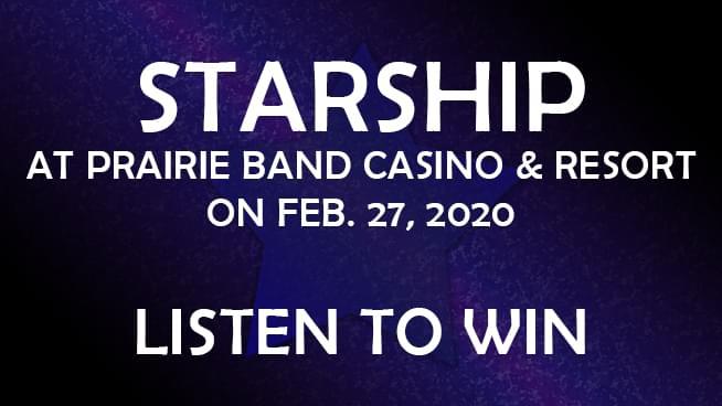 Starship Coming to Prairie Band Casino