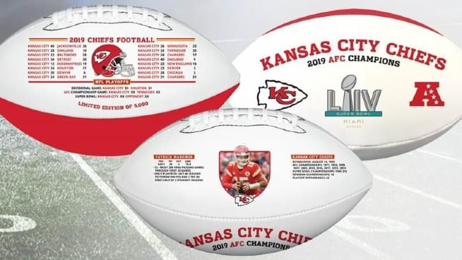 Celebrate The Kansas City Chiefs Super Bowl Victory & Help Out A Great Cause