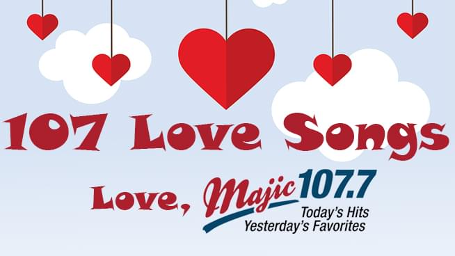 Majic's Top 107 Love Songs
