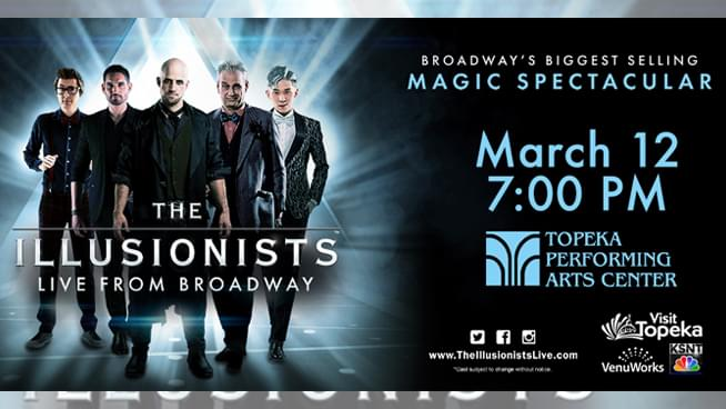 Majic Mondays – Win The Illusionists tickets!