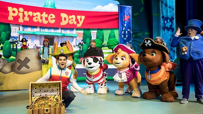 Paw Patrol Live! – Rescheduled for September