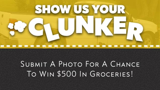 Show Us Your Clunker – Photo Contest