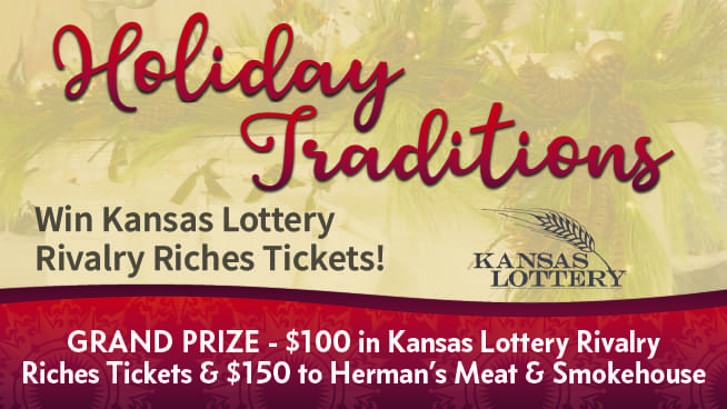 Tell Us Your Favorite Holiday Traditions – Win Kansas Lottery Tickets!