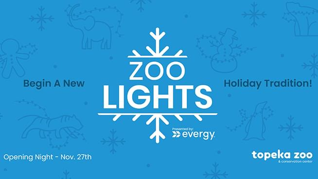 Topeka Zoo Welcomes A New Holiday Tradition With Zoo Lights!