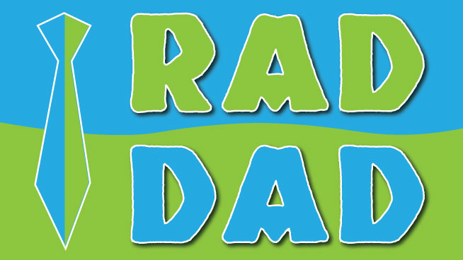 """Win Your """"Rad Dad"""" A Prize Pack"""