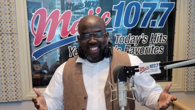 """Welcome """"New"""" Shawn Knight to Majic 107.7!"""