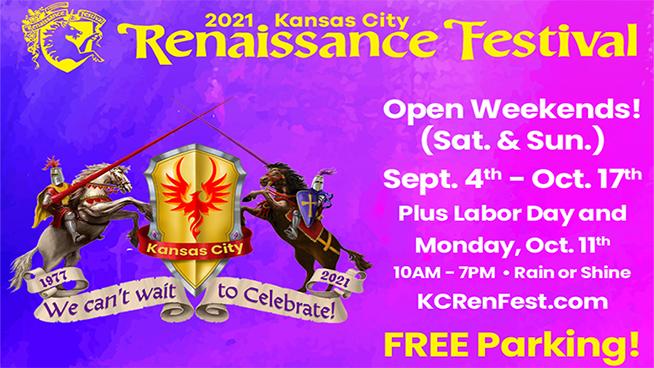 Win Tickets to the Kansas City Renaissance Festival