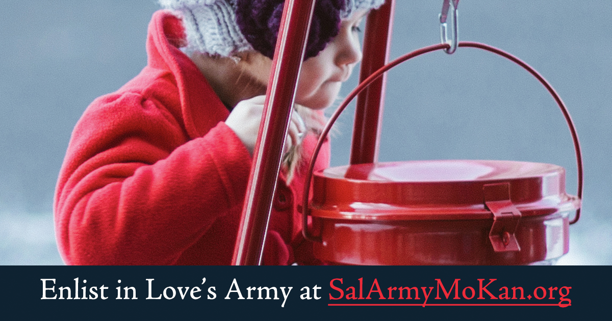 Bell Ringers Needed For Topeka Salvation Army