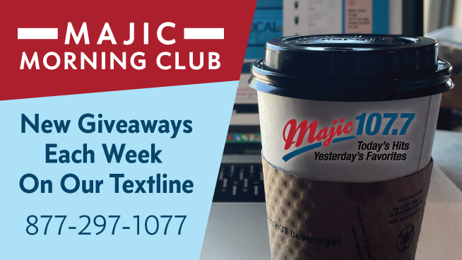 Majic Morning Club – TEXT TO WIN: Club Car Wash