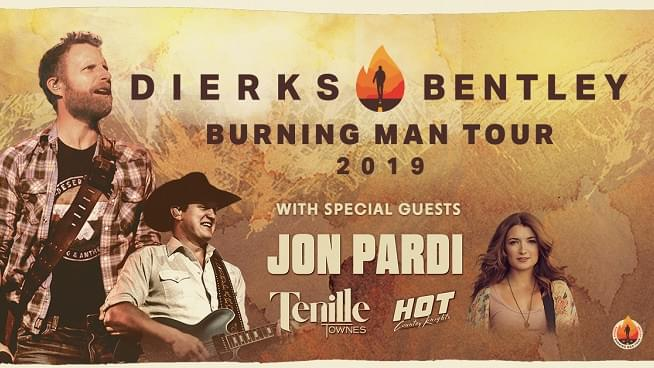Dierks Bentley's Burning Man Tour Will Be in Kansas City This Summer