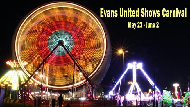 Evans United Shows Carnival is Back